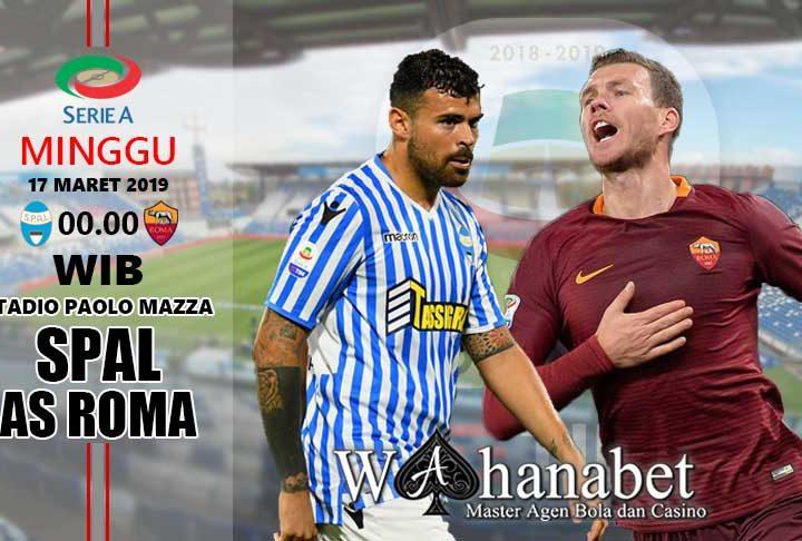pertandingan spal vs roma
