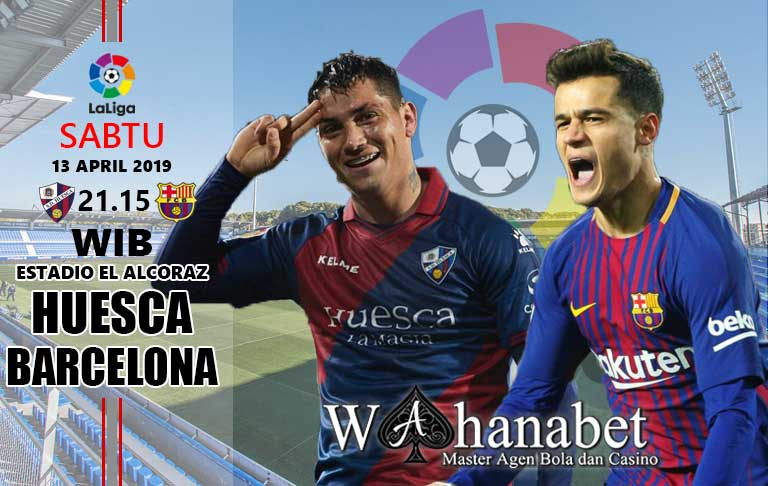 pertandingan huesca vs barcelona
