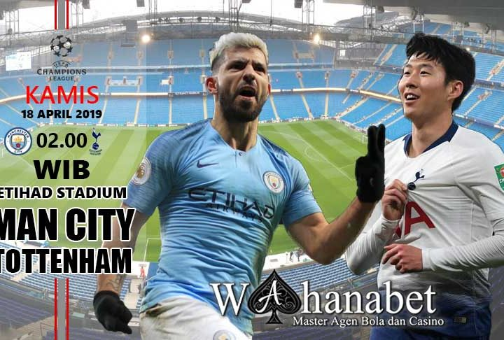 pertandingan man city vs tottenham