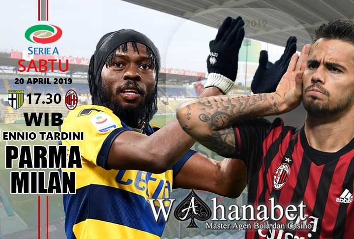 pertandingan parma vs milan