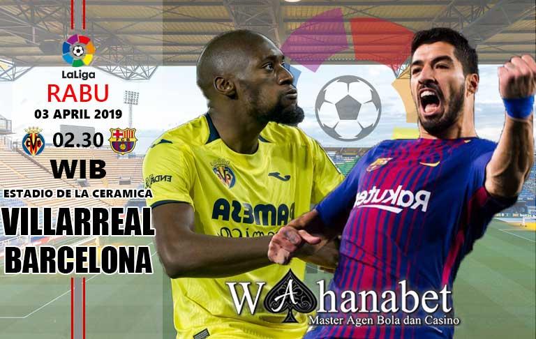 pertandingan villarreal vs barcelona