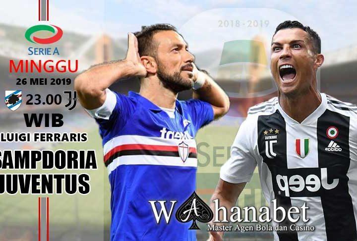 pertandingan sampdoria vs juventus