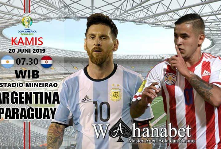 pertandingan argentina vs paraguay