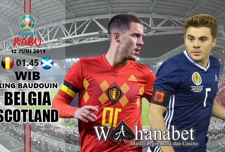 pertandingan belgia vs skotlandia