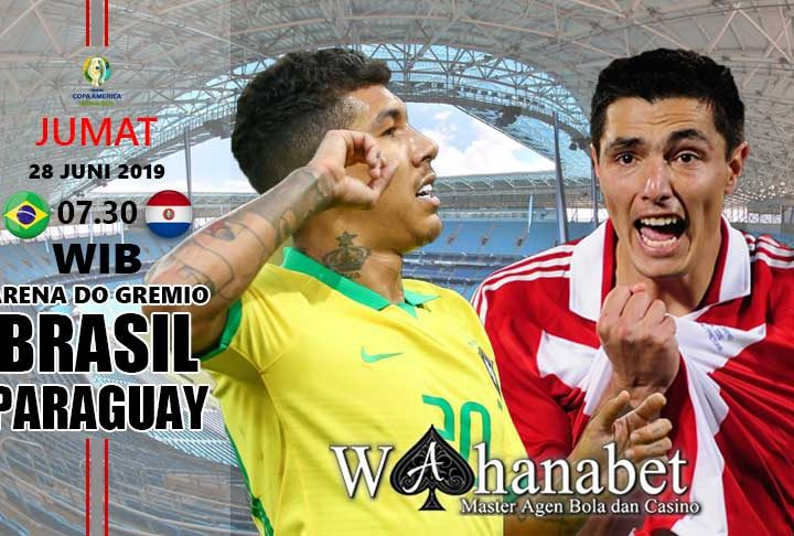 pertandingan brasil vs paraguay