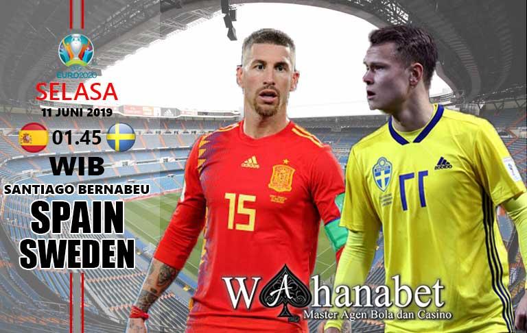 pertandingan spanyol vs swedia