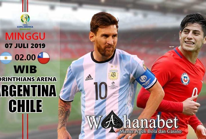 pertandingan argentina vs chile