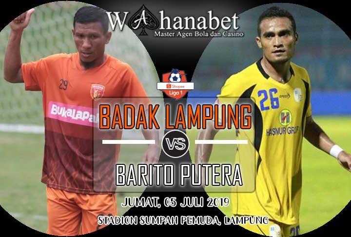 pertandingan badak lampung vs barito putera