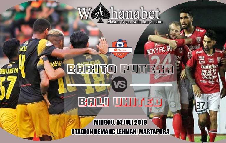 pertandingan barito putera vs bali united