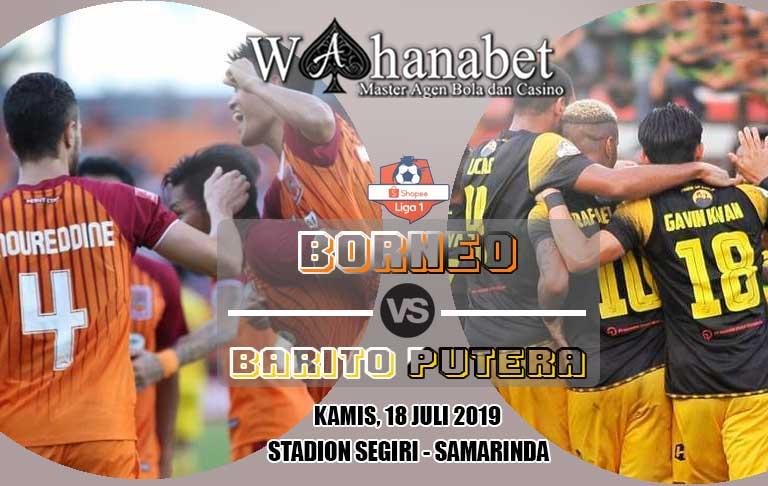 pertandingan borneo vs barito putera