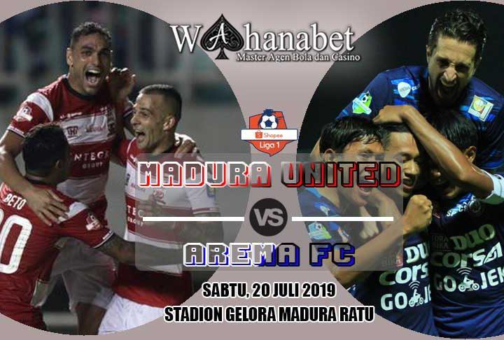 pertandingan madura united vs arema