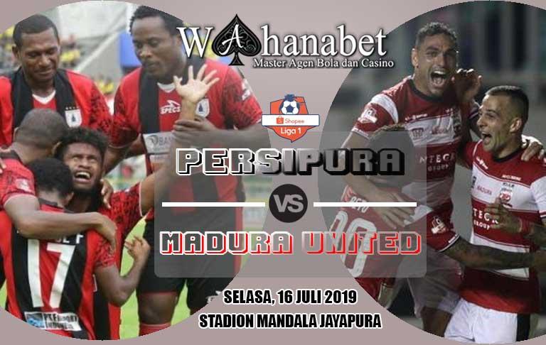 pertandingan persipura vs madura united