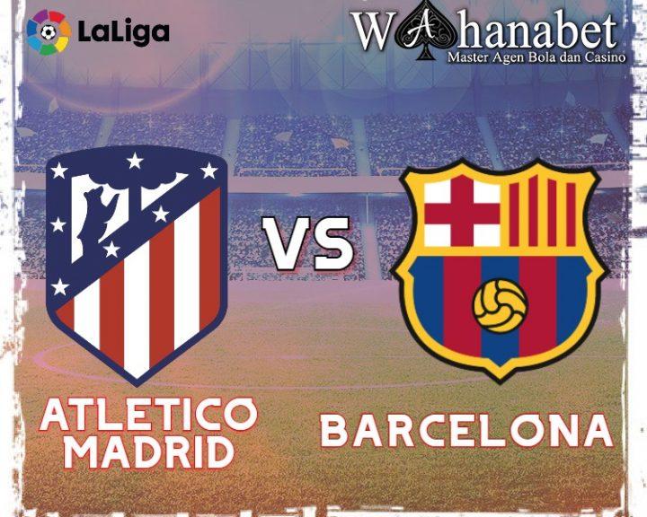 Prediksi Skor Atletico Madrid vs Barcelona 22 November 2020
