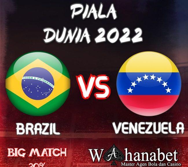 Prediksi World Cup 2022 Brazil vs Venezuela 14 November 2020