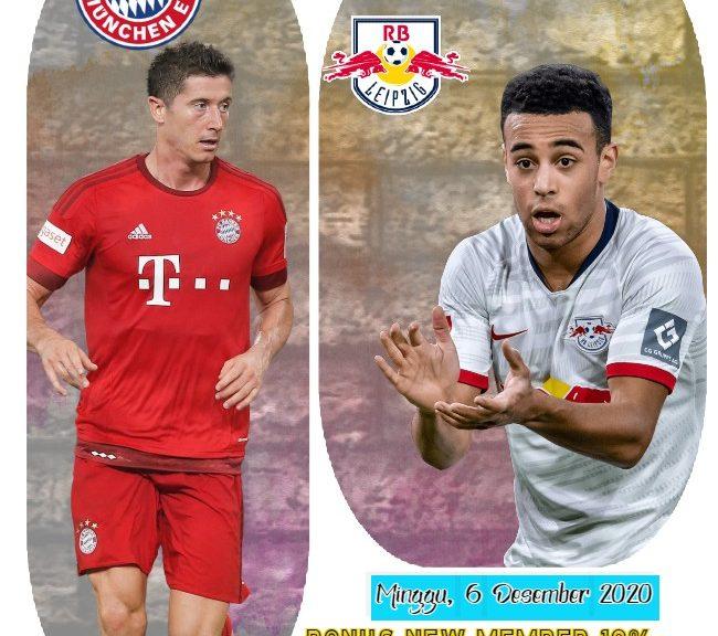 Prediksi Skor Bayern Munich vs RB Leipzig Liga Jerman 6 Desember 2020