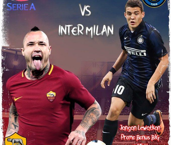 Prediksi Liga Italia AS Roma vs Inter Milan 10 Januari 2021