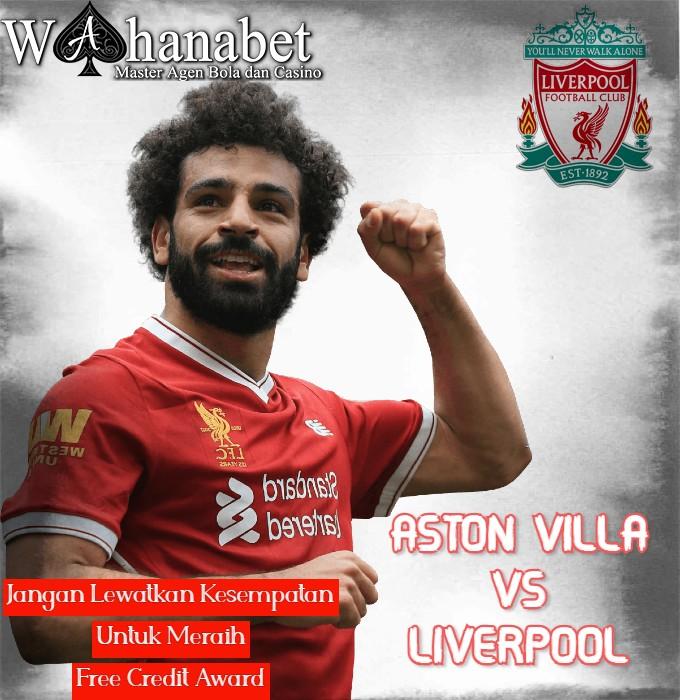 Prediksi Pertandingan Bola Aston Villa vs Liverpool 09 Januari 2021