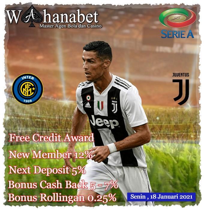 Prediksi Pertandingan Inter Milan vs Juventus 18 Januari 2021